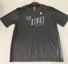 NHL LA Kings Men's XL Extra Large Gray Polyester T Shirt Brand New