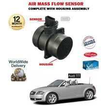 FOR AUDI TT 1.8 QUATTRO BAM 2002-2005  NEW AIR MASS SENSOR + HOUSING 06A906461M