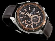 Casio Edifice Imported EFR-539L Brown Leather strap Men's watch