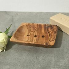 Soap Dish Olive Wood / Soap Holder / Soap Safer, perforated, handmade