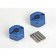 Traxxas - Wheel Hex Hubs (Blue Aluminium)