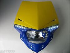 Ufo Road Legal Headlight Enduro Streetfighter Motorcycle Rmz Drz Dr Gsx Rmz Ts