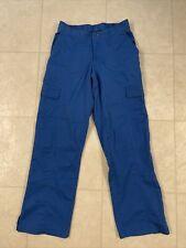 Ua Butter Soft Scrub Pants Royal Blue Sz Xs