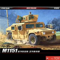 Academy 1/35 M1151 Enhanced Armament Carrier Humvee Car Plastic model kit #13415