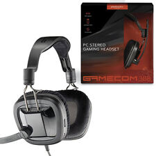 Plantronics GameCom 388 Closed Ear Stereo Volume Control Gaming Computer Headset