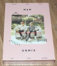 MXM BRANDNEW BOYS UNMIX B TYPE K-POP CD + PHOTOCARD + POSTER IN TUBE CASE