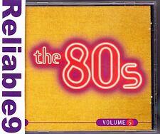Whitesnake+Billy Squirer+Stranglers+Paul Hardcastle-The 80s Vol5 CD -1998EMI Aus