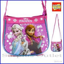 Disney Frozen Elsa  ANNA Olaf Small Messenger Bag Cross body Bag Hand Purse