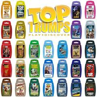 Top Trumps Card Games - Play and Discover - Largest Range - 110+ to choose from!
