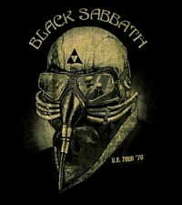 BLACK SABBATH cd cvr Never Say Die US TOUR 1978 Official SHIRT LRG new