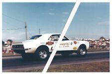 "1960s NHRA Drag Racing-Bill Jenkins-""Grumpy's Toy"" IV-'68 427 Camaro-Maple Grove"