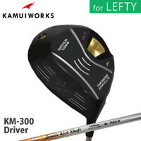 for LEFTY 2019 Kamui Works Golf Japan KM-300 IP Black Driver 1W Double Kick 19at