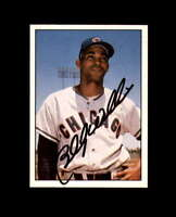 Billy Williams Hand Signed 1981 TCMA 60's Chicago Cubs Autograph