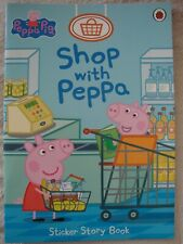 Peppa Pig Sticker Story Book Shop With Peppa Story Book Brand New RRP £3.99