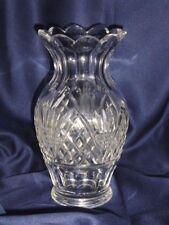 """Vintage Waterford 9 1/4""""H. Vase, Ca.1980's, Made In Ireland, One, Original Owner"""