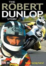 The Robert Dunlop Story (New DVD) Road Racing NW200 Joey Motorcycle Sport
