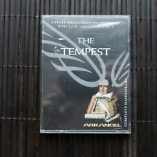 THE TEMPEST  - WILLIAM SHAKESPEARE'S  - 2X AUDIOCASSETTE (sealed)
