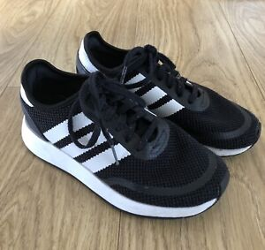Boys UK Size 4 Adidas Trainers in very good condition