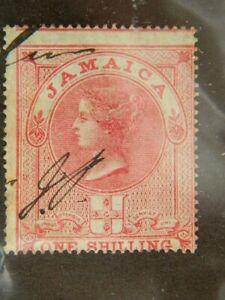 1909 JAMAICA  SG# F7 USED  POSTAL FISCAL