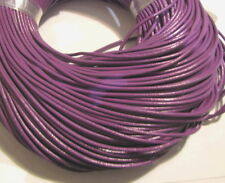 10M PURPLE GENUINE LEATHER CORD 2mm