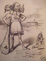 1876 Harper's Weekly December 9-Democratic Windbag