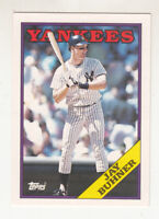 JAY BUHNER 1988 Topps Traded #21T XRC Rookie Yankees Mint Lot of 50 cards