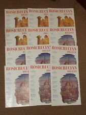 Rosicrucian Digest 1956. Complete Year. 12 Issues. No Insciptions.