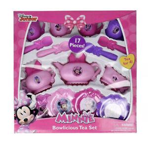 Disney Junior Minnie Mouse Bowtique Bowlicious Tea Cup Set Girl Toy (17pc Set)