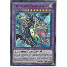 LED6-EN001 The Dark Magicians | 1st Edition Ultra Rare YuGiOh Trading Card Game