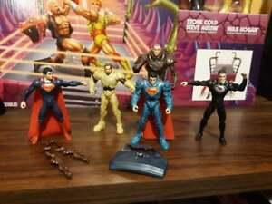 Mattel Man of Steel Exclusive Kryptonian Invasion 5-Pack Action Figure Superman