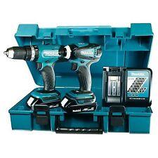 Makita DLX2020Y (DHP453 + DTD146) 18 V Akkuschrauber-Set