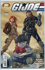 G.I. Joe 2001 series # 16 near mint comic book