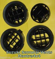 Suzuki SJ Sierra Samurai Dash Vents Round 85 86-88 Set of 4 New Free Ship