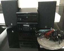 YAMAHA PianoCraft MCR-E810  Ampli-tuner RX-E810 + DVD-E810 + Enceintes NX-E800