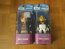 Funko X Playmobil Willy Wonka and Oompa Loompa Collectible Action Figure