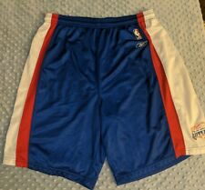 Reebok Los Angeles LA CLIPPERS White Red Blue Basketball NBA Warm-Up Training XL