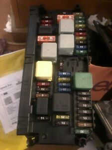 MERCEDES C CLASS W 204  2011-2014 FRONT SAM UNIT FUSE BOX  A2129005812