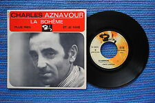 CHARLES AZNAVOUR / EP BARCLAY 70879 / VERSO 2 / BIEM 1965 ( F )