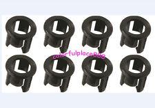 100pcs 5 Mm De Plástico Negro Led Clip Holder Case Copa de montaje Soportes Para 5mm Led