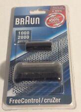 Braun 1000 2000 Series 10B 20B FreeControl CruZer Foil & Cutter Block (NEW)