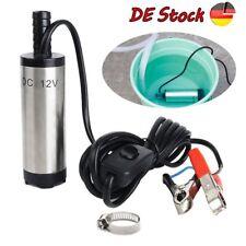 Edelstahl Wasser Pumpe Transfer Tauchpumpe für Diesel Öl 12L/min 12V 38mm Auto