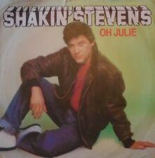 "SHAKIN STEVENS - Oh Julie ~ 7"" Single PS"