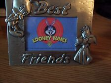 """looney tunes picture frames """"BEST FRIENDS"""""""