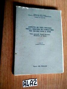 ASPETTI DI VITA SOCIALE NELLA DIOCESI DI COMACCHIO NEI SEC XVII E XVIII (A4A2)