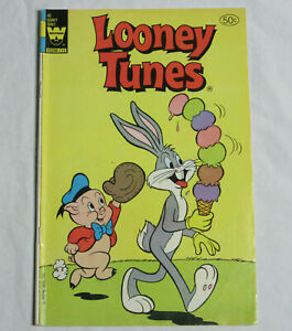 LOONEY TUNES #40 * Whitman Comics * 1980 - Comic Book - Vintage Bugs Bunny Porky