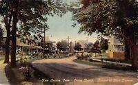 Postcard Ocean Beach, Mott Avenue in New London, Connecticut~130400