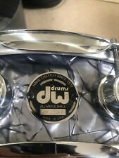 More details for rare dw collectors ten and six all maple snare. used great condition.