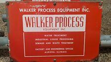 Walker process Equipment Sign, Illinois