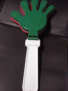 Klatschhand  Italien grün/weiss/rot Fussball Fanartikel
