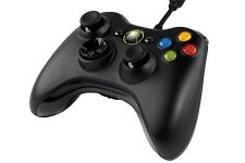 Original Microsoft Wired Kabel Controller für Xbox 360 und Windows Pc Neu Ovp